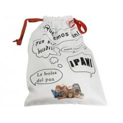Bolsa de pan personalizada con fotos