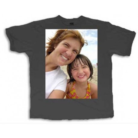 Camiseta colores personalizada con fotos