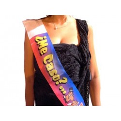 Banda Miss personalizada con fotos