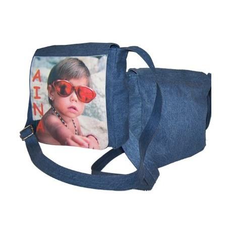 Bolso tejano personalizado con fotos