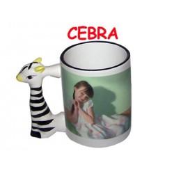 Taza cerámica animalitos