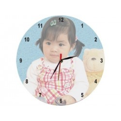 Reloj pared cristal