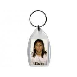Llavero plástico personalizado con fotos