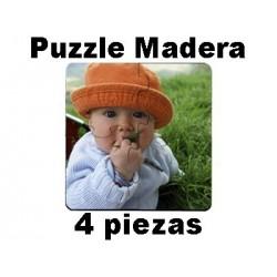 Puzzle madera 4 piezas