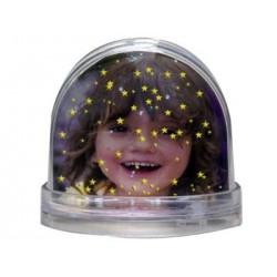 Bola de estrellas personalizada con fotos