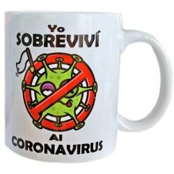 Taza Coronavirus