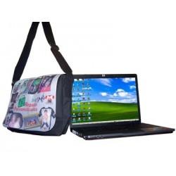 Bolso ordenador portatil personalizado con fotos