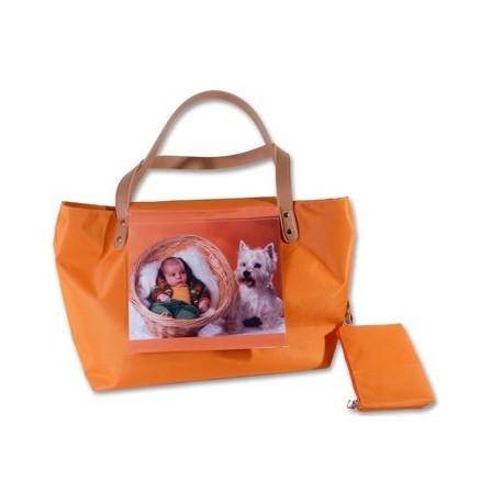 Bolso textil personalizado con fotos Mediterráneo