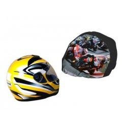 Bolsa Porta cascos Moto personalizada con fotos