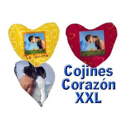 Cojín XXL Corazón Doble cara