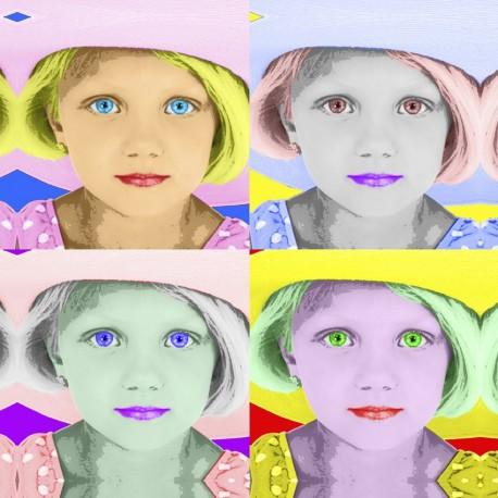 Warhol - Comic Pop Art estilo Andy Warhol